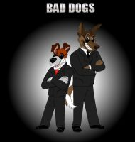 Bad Dogs by SolitaryGrayWolf