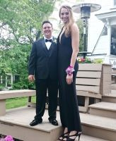 super tall prom date by lowerrider
