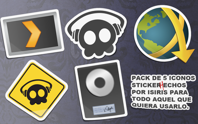 Icon Sticker Pack programs by isiris