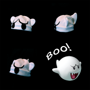 Boo Hat by SarahRuthless