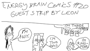 Energy Brain Comics #20: Guest Strip #2 by EnergyBrainComics
