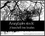 Tree and branches brushes part by AzurylipfesStock