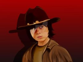 Carl Grimes by Hey2theZeus