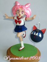 Chibiusa Resin model 5 by Pyramidcat