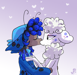 Smooches by JB-Pawstep