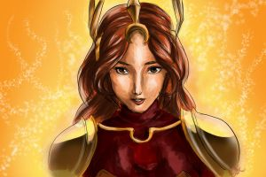 Leona coloured by TheEmpa