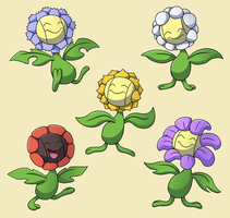 PokemonSubspecies: Sunflora by CoolPikachu29