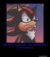 Archie Shadow demotivational by lightyearpig