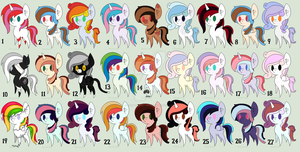Cheap MLP Adopts by Adoptables-Hoe