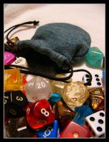 Dice by voodoodeathgirl