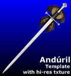 Sword of Aragorn - template by MorellAgrysis