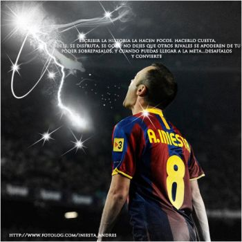 Andres Iniesta 2 by onlmileyrcyrus
