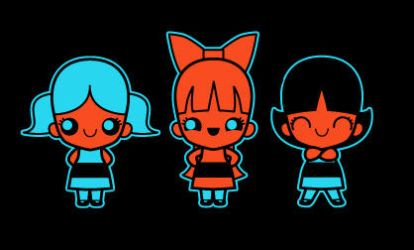 chibi powerpuff girls by marisolivier