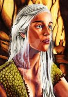 Mother of Dragons by MokkunChan