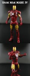Iron Man Mark IV Suit by Jin-Saotome