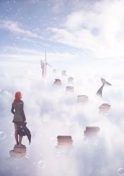 Magical Town in the Clouds by mai994