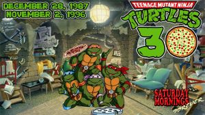 SATURDAY MORNINGS FOREVER: TMNT 30TH ANNIVERSARY 2 by WOLVERINE25TH