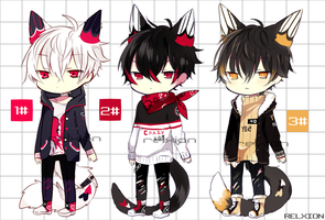 [AUCTION*CLOSED]Lineheart*43 by Relxion-kun