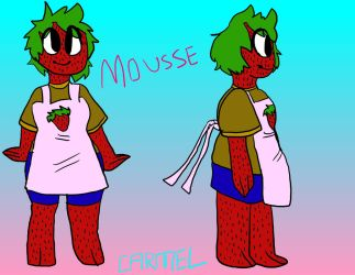 Mousse by invadercarmel