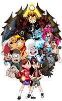 Gravity Falls by PokeLink13