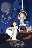 Adventure Time StarWars by colher