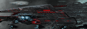 WIP: Lemurian Supercarrier by PeterPrime
