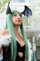 Morrigan Aensland Close Up by laurabububun