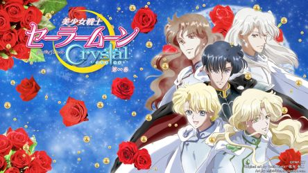 Sailor Moon Crystal - Shitennou =BluRay Menu Ver= by Myusse