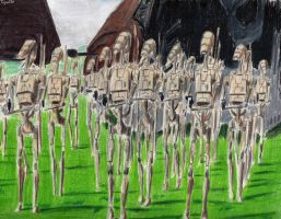 Trade Federation Droid Army by Taipu556