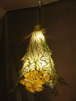 Flower lamp - 4  'K-lamp' by OkapiZen