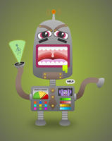 Mad Robot by wildgica