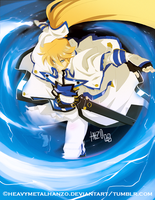 Guilty Gear Xrd-Ky Kiske by HeavyMetalHanzo
