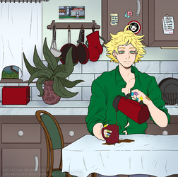 Morning Tweek by RottingRoot