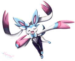 [Charity Collab]Pokemon Orchestral-Sylveon Singing by Gartendrache