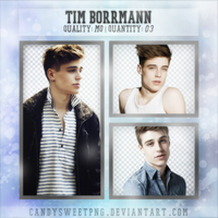 Png Pack 03 : Tim Borrmann by CandySweetPng