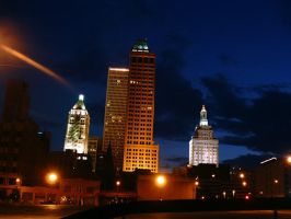 Downtown Tulsa Oklahoma by dial
