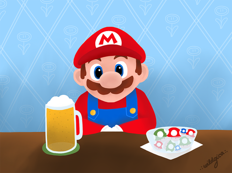Weekend Mario by wildgica