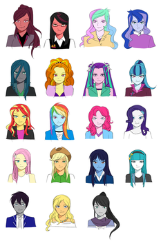 Equestria Girls: Hearts and Strings (Cast) by Lionel23