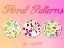Floral patterns by mjjj10