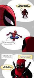 Spideypool: Shut up, boxes by HTF-ADTI-MLP100606