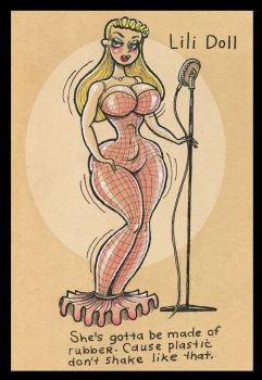 Meet Lili Doll Torch Singer (and a doll) by Larry-Malone