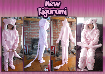 .: Finished Mew Kigurumi :. by TheBealeCiphers