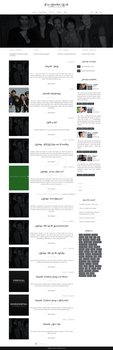 One Direction Wordpress theme by cherryproductionsorg