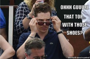 Benedict is judging you by Aine0686