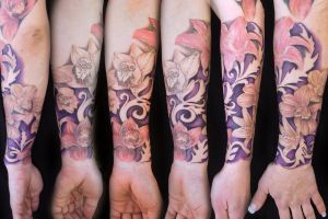 My wife's sleeve by hatefulss