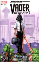 Vader Down sketch cover by gb2k
