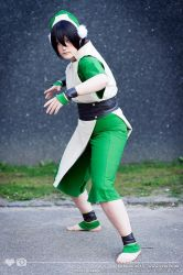 Toph, Avatar The Last Airbender Fight by XxMyxWouldxX