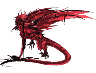 Pathfinder Monster (Blood Dragon) by Neuroticpig