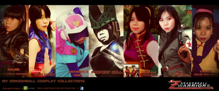 Maia's Dragonball Cosplay Collections by maiabest9381