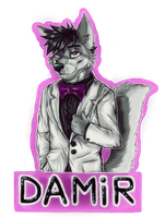 .:Badge Damir:. Comission by JuliArt15